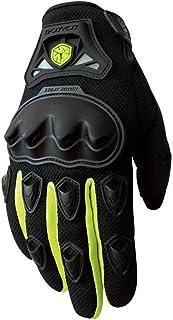 HAOSHUAI Racing Off-road Handschoenen All-around Rijden Onbreekbare Beschermende Gear Uitgerust met Handschoenen, Meerdere kleuren Ridding handschoenen (Kleur : Blauw, Maat : L)