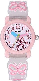 Kinderhorloge 3D Siliconen Cartoon Horloge Leuke Waterdichte Quartz Horloge Elementary School Girls Watch Kids Watch