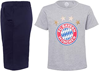 FC Bayern München Baby Sommerset Logo T-Shirt  Kurze Hose