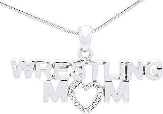 Wrestling Mom Necklace - Wrestler Necklace