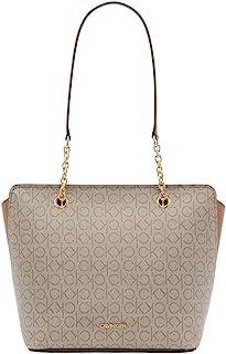 حقيبة يد هايلي مع سلسلة وسحاب علوي وتصميم كالفن كلاين المميز من كالفن كلاين