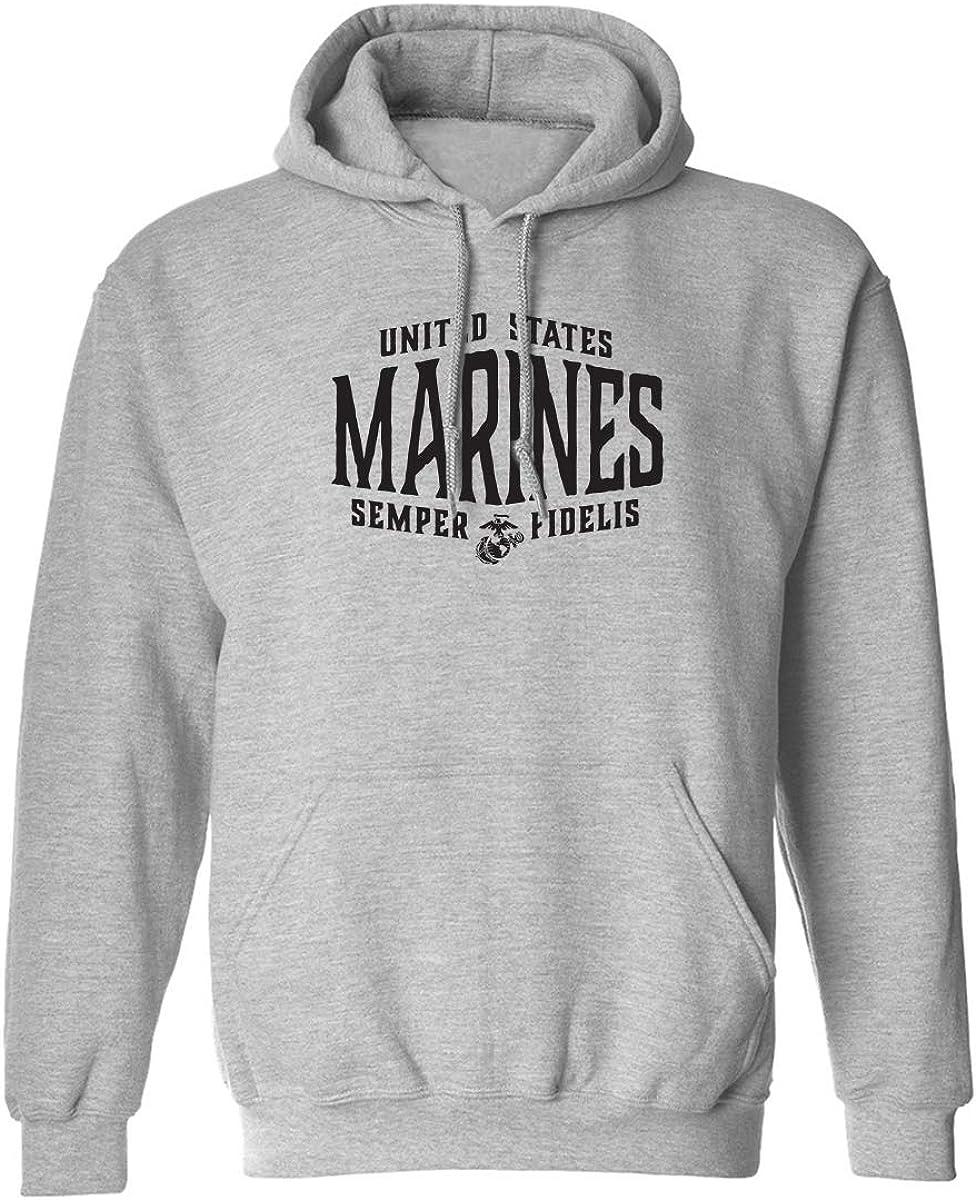 U.S. Marines Semper Fidelis Adult Hooded Sweatshirt