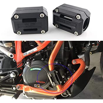 Lorababer Motorcycle Bumper Decorative Blocks Engine Protective Guard Crash Bar Protector for R1200GS//Adventure For F700GS F800GS for 1190 Adventure for Africa Twin CRF1000L