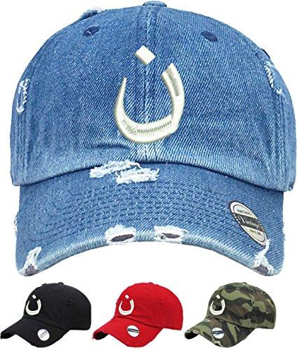 ALLNTRENDS Adult Dad Hat Nazarene Symbol Embroidered Cap Trendy Christian Hats (Black)