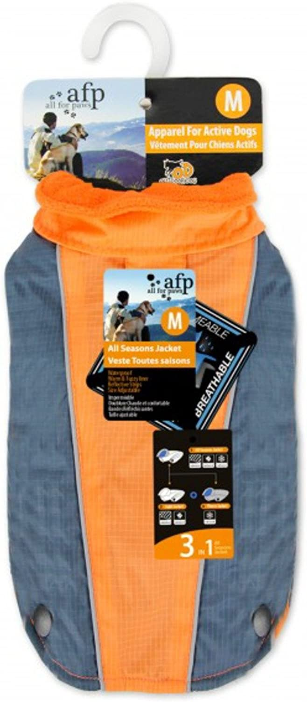 All for Paws All Season Jacket, orange, XXLarge