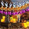 Luci della stringa di zucche,Luci scheletro,Luci di Halloween,Luci della stringa di Halloween all'aperto,Halloween Luci Stringa,Lampada Jack-o'-Lantern Luci Decorazione (3 set) #4