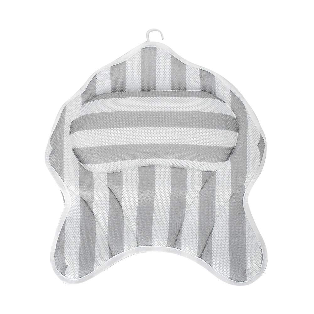 High Japan Maker New material Spa Bath Pillow Comfortable Bathtub Stron Cushion Headrest with