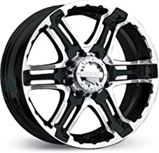 Gear Alloy Double Pump 20x9 Black Wheel / Rim 5x135 with a 10mm Offset and a 86.87 Hub Bore. Partnumber 713MB-2095310