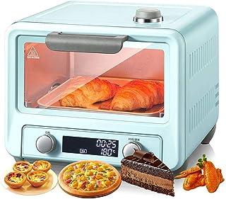 Mini Horno Control Inteligente Temperatura, VersióN Mejorada Con Un Clic MáQuina Pizza 15 LHorno Vapor Descongelado Adecuado Con Recordatorio Sonido Para Principiantes Alimentos