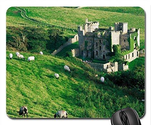 clifden castle ireland Mouse Pad, Mousepad (Medieval Mouse Pad)