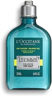 L'Occitane L'Homme Cologne Cedrat Shower Gel Body & Hair, 8.4 Fl Oz