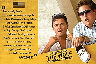 Close Up The Wolf of Wall Street Poster Awesome (36