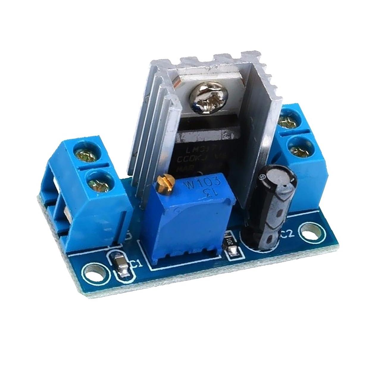 保存ゾーン四面体降圧コンバータ DC 調整可能 リニア モジュール 電源 ボード LM317