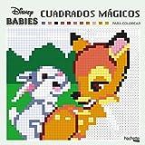 Cuadrados mágicos para colorear - Disney Babies (Hachette Heroes - Disney - Colorear)
