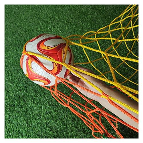 Soccer Net Replacement, Football Net for Backyard Nets Rebounder Net Basketball Back Netting Barrier Backstop Net Fence Guard Netting Material Court Net Ball Stop Nets for Catching Balls Backyard Trai