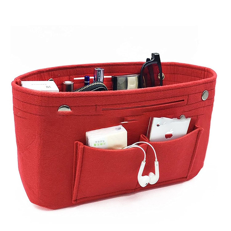フェルト バッグインバッグ トートバッグ 収納バッグ レディース メンズ バックインバック 自立可 大容量インナーバッグ(6色)