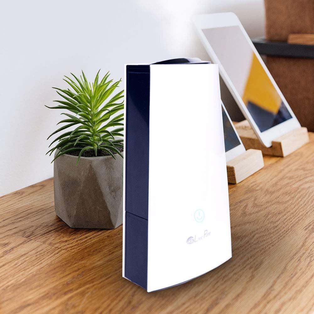 LivePure Ultrasonic Cool Mist LP450HUM Tabletop Humidifier