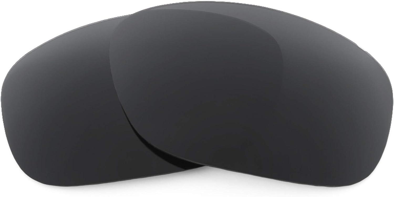 Revant Verres de Rechange pour Oakley Ten - Compatibles avec les Lunettes de Soleil Oakley Ten Noir Furtif - Non Polarisés