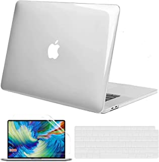 GVTECH For MacBook Pro 13 inch Crystal Clear Case 2016-2020 (A2338 M1/ A2289/ A2251/ A2159/ A1706/ A1989), Plastic Protect...