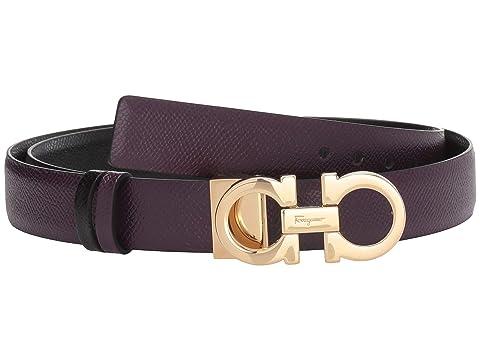 Salvatore Ferragamo Gancini Adjustable/Reversible Belt