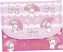 My Melody PU Leather Wallet with Coin Pocket Card Slots Candy Color Kids Girl's Purse