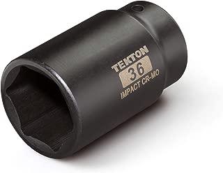 TEKTON 1/2 Inch Drive x 36 mm Deep 6-Point Impact Socket | 4936