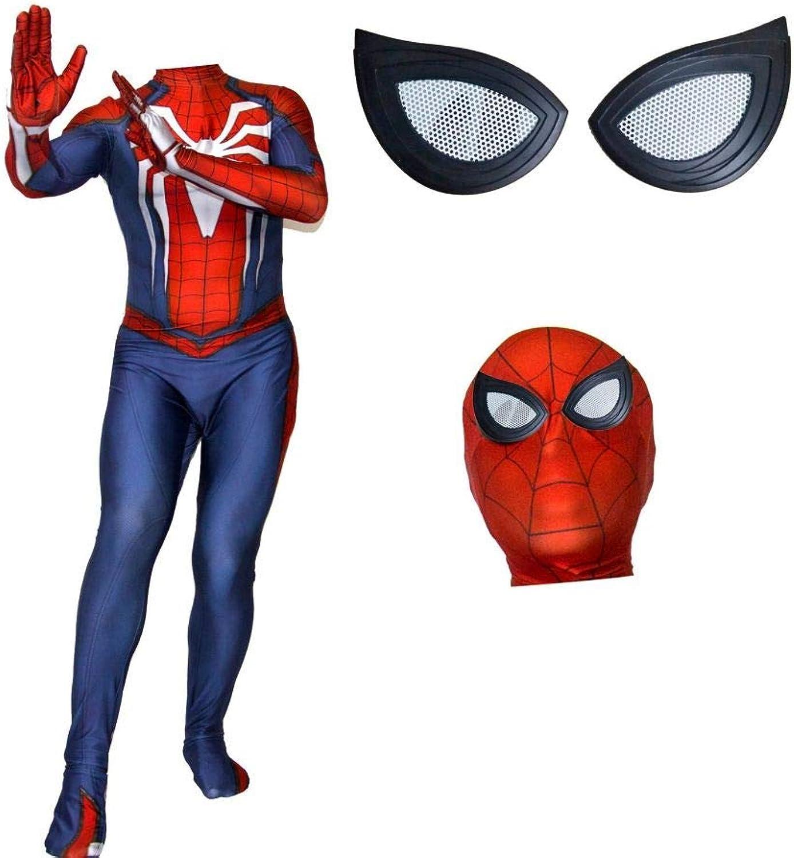 ventas en linea RNGNBKLS Disfraz De De De Spiderman, Niño Adulto, Halloween, CosJugar, Cochenaval, Spiderman, Disfraz, Traje De Spandex Lycra,(Men) style-2-XL  punto de venta