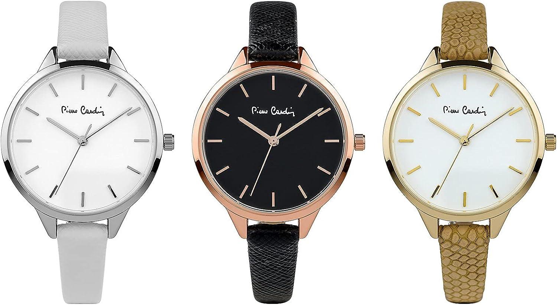 Pierre Cardin Reloj de pulsera con reloj, 3 modelos