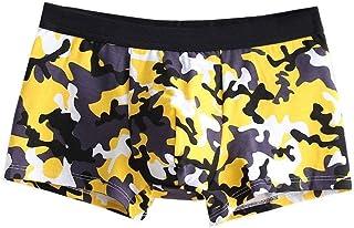 HaiDean Men's Under Men's Warming Casual Shorts Shorts Modern Underpants Soft Cotton Briefs Underpants Stretch Comfortable...