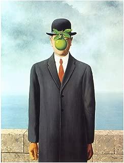 Spiffing Prints Rene Magritte Le Fils de L'Homme Son of Man - Extra Large - Matte - Unframed