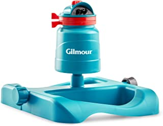 Gilmour 820133-1001 Turbine Rotor Sprinkler with Sled Base 200SPB, Turquoise