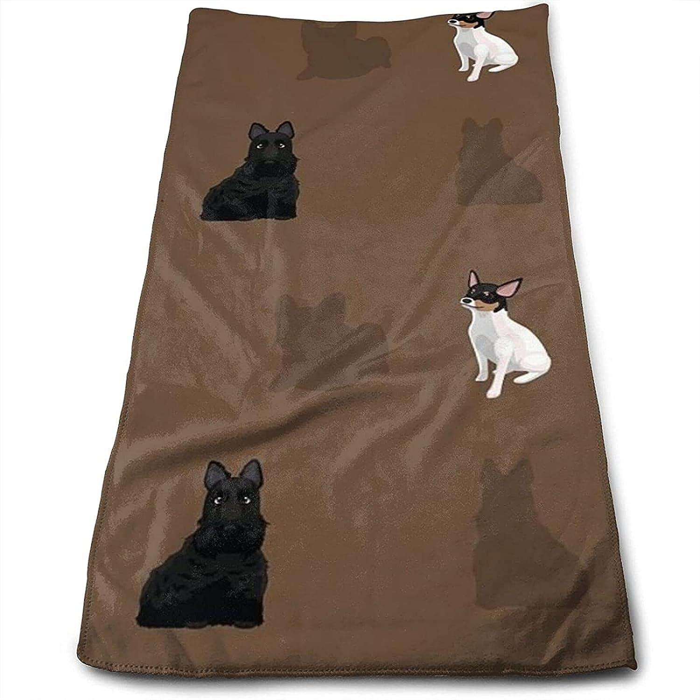 Epushow Animal Wallpaper EPS File Format Handkerchief Kitchen Bathroom Handkerchief Soft Polyester Microfiber