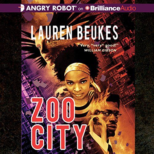 Zoo City audiobook cover art