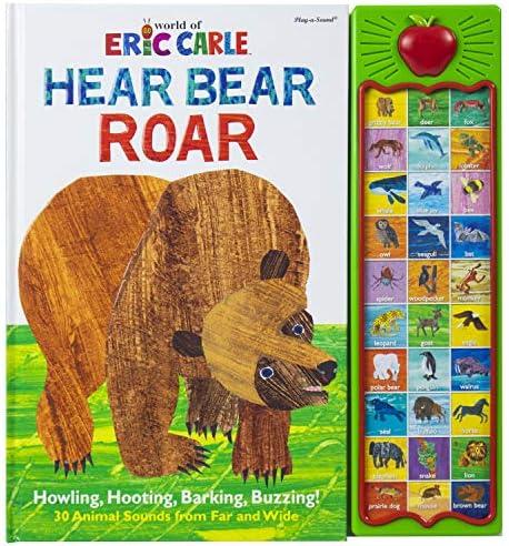 World of Eric Carle Hear Bear Roar 30 Animal Sound Book PI Kids Play A Sound product image
