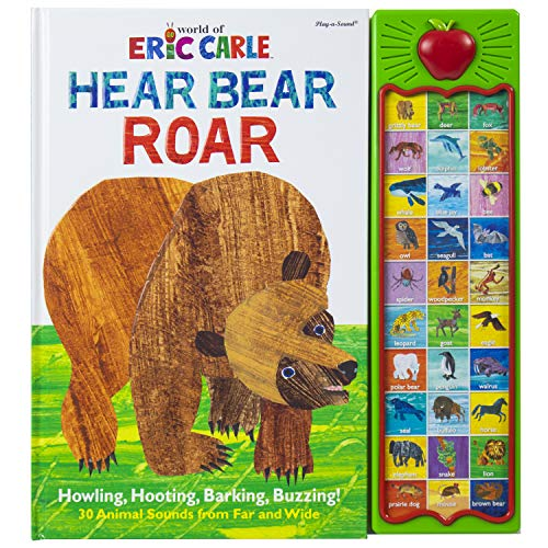 Compare Textbook Prices for World of Eric Carle, Hear Bear Roar 30-Button Animal Sound Book - PI Kids Play-A-Sound Ina Brdbk Edition ISBN 9781450874779 by Editors of Phoenix International Publications,Editors of Phoenix International Publications,Eric Carle