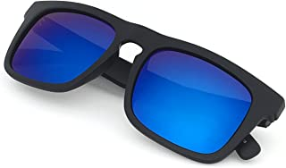 Raglan Surfer's Polarized Mirror Lens Sunglasses for Men