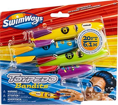 SwimWays 6045217 ToyPedo Bandits Tauchspielzeug für Kinder ab 5 Jahren