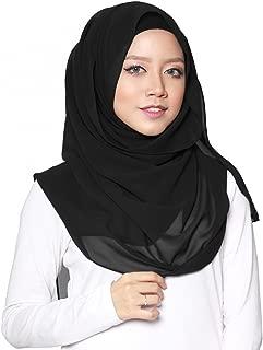 Best black chiffon abaya Reviews