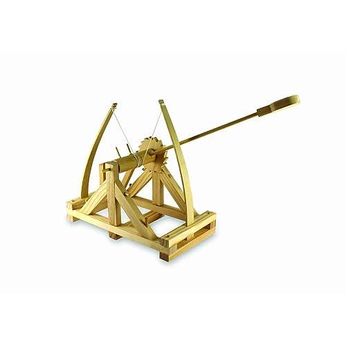 BUILD YOUR OWN - Jeu de construction -  Catapulte De Bureau - Da Vinci -  un thumbs UP! BRAND - 1000779