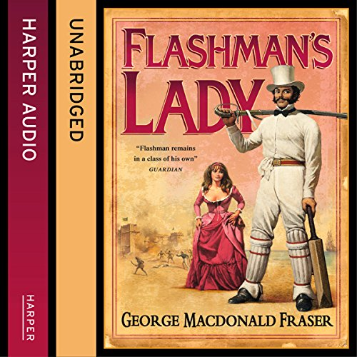 Flashman's Lady audiobook cover art