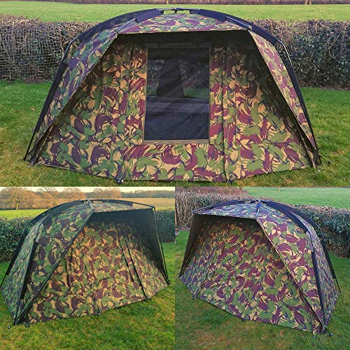 Quest Defier 1 Man Bivvy | Carp Fishing | Quick Erect | Day Shelter Overnight Brolly