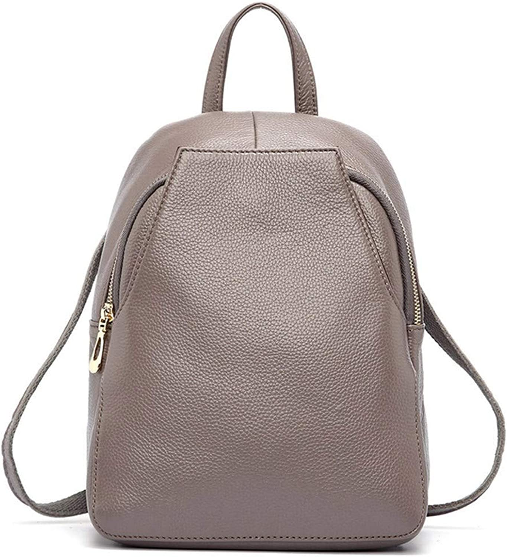 Rucksack Damen Rucksack pu diebstahlsicherung Taste weibliche Reisetasche mdchen Urlaub Rucksack Tasche (Farbe   D, Größe   -)
