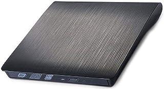 Graveur DVD Externe, USB 3.0 Externe DVD Haute Vitesse DL RW Graveur Graveur De CD Slim..