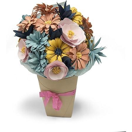 Sizzix 661988 Matrice Bigz Fleurs, Combinaison, Multicolore, 24,1 x 15,4 x 1,9 cm