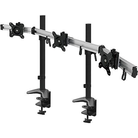Hftek 3 Fach Monitorarm Halterung Halter Tischhalterung Für 3 Monitore Von 15 34 Zoll Mit Tisch Klemmsystem Vesa Lochmuster 75 100 Mp230c Xxl Küche Haushalt