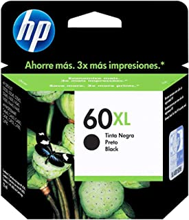 Cartucho HP 60XL Preto Original (CC641WB)