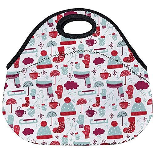Neopreno Lunch Bag,Estuche Portátil,Bolsos Termico Comida,
