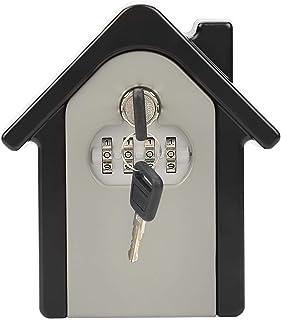 Boîte de verrouillage de clé, masques de clé pour cacher une clé à l'extérieur, boîte de verrouillage de stockage de clé é...
