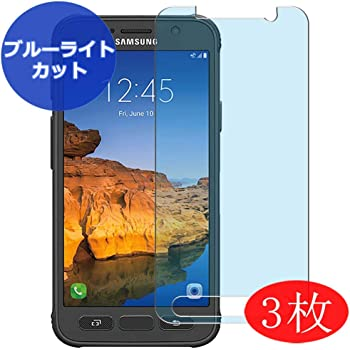 New Version 【4 Pack】 Synvy Anti Blue Light Screen Protector for Samsung Galaxy S7 G930A G9300 Blue Light Blocking Screen Film Protective Protectors Not Tempered Glass