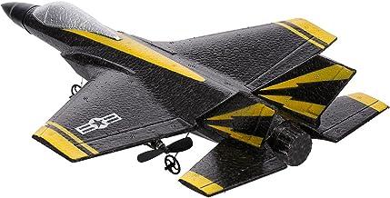 ZAKRLYB Jolies Jouets Télécommande Contrôle des Avions Fixe Fixe Plastique Lumière à 2 canaux et Vision Anti-Impact Durabl...